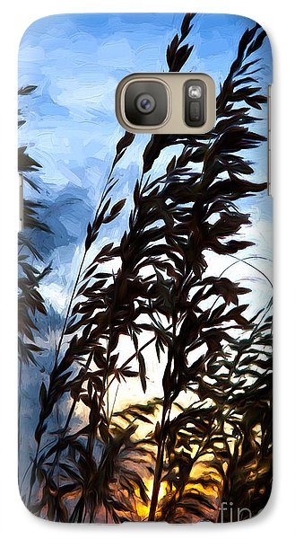 Galaxy Case featuring the painting Delicate Dawn I by Dan Carmichael