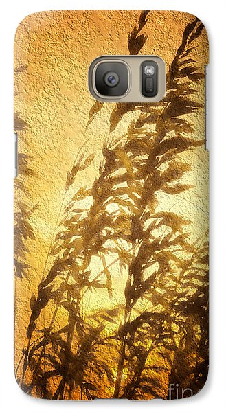Galaxy Case featuring the painting Delicate Dawn II by Dan Carmichael