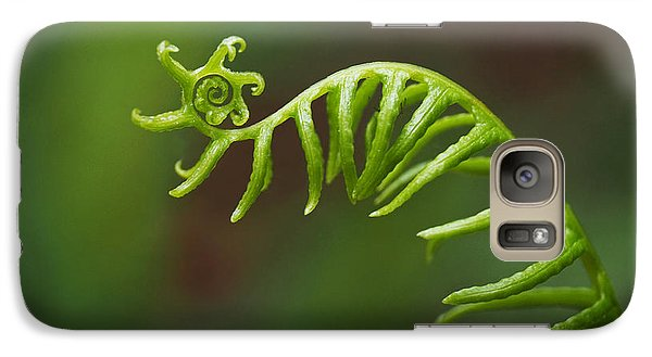 Delicate Fern Frond Spiral Galaxy S7 Case
