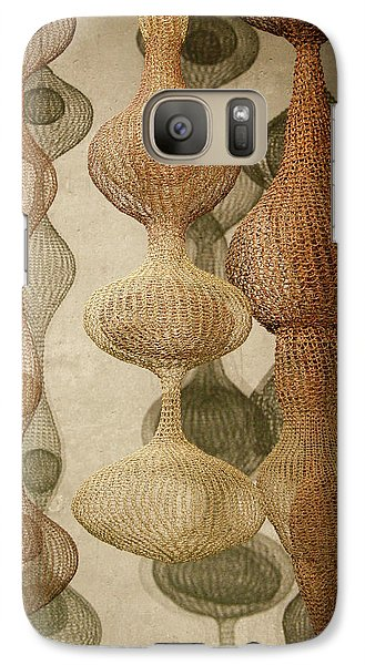 Galaxy Case featuring the photograph Delicate Shapes by Roger Mullenhour
