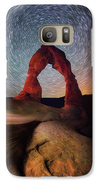 Galaxy Case featuring the photograph Delicate Spin by Darren White
