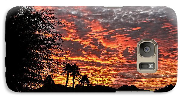 Galaxy Case featuring the photograph Delightful Evening by Robert Bales