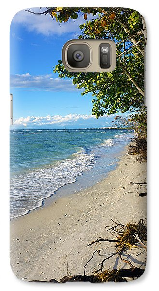 Galaxy Case featuring the photograph Delnor Wiggins Pass State Park by Robb Stan