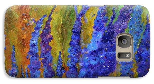 Delphiniums Galaxy S7 Case