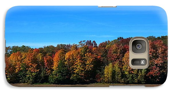 Galaxy Case featuring the photograph Delta Lake State Park Foliage by Diane E Berry