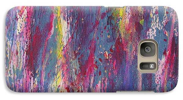 Galaxy Case featuring the painting Delve Deep 2 by Mini Arora