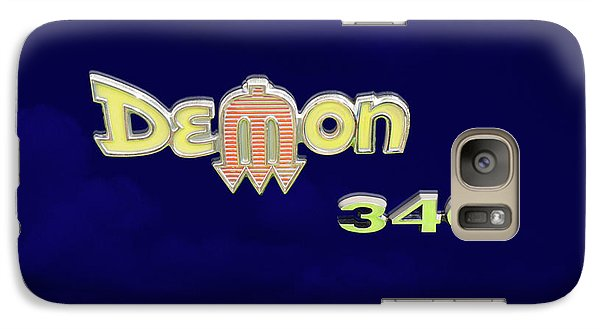 Galaxy Case featuring the photograph Demon 340 Emblem by Mike McGlothlen