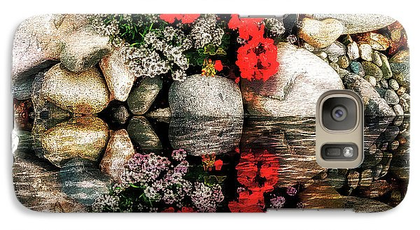 Galaxy Case featuring the photograph Denali National Park Flowers by Joseph Hendrix