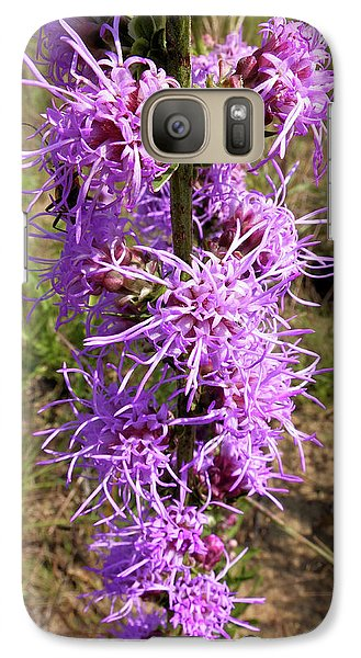 Galaxy Case featuring the photograph Dense Blazing Star by Scott Kingery