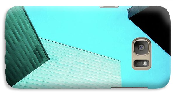 Galaxy Case featuring the photograph Denver Art Museum Hamilton by Marilyn Hunt