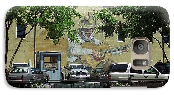 Galaxy Case featuring the photograph Denver Cowboy Parking by Frank Romeo