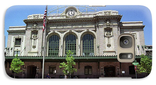 Galaxy Case featuring the photograph Denver - Union Station Film by Frank Romeo