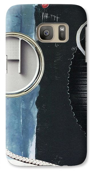 Galaxy Case featuring the painting Depth Onto Space by Michal Mitak Mahgerefteh