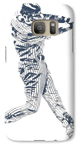 Derek Jeter New York Yankees Pixel Art 10 Galaxy S7 Case
