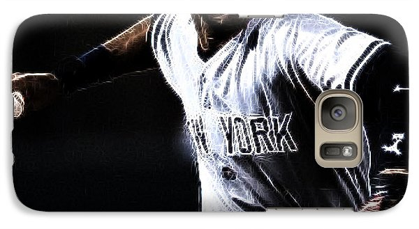 Derek Jeter Galaxy Case by Paul Ward