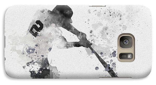 Derek Jeter Galaxy Case by Rebecca Jenkins
