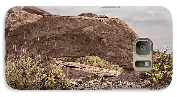 Galaxy Case featuring the photograph Desert Badlands by Melany Sarafis