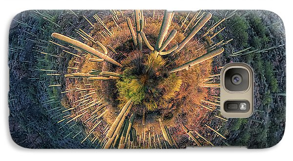 Galaxy Case featuring the photograph Desert Big Bang by Lynn Geoffroy