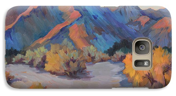 Galaxy Case featuring the painting Desert Light by Diane McClary