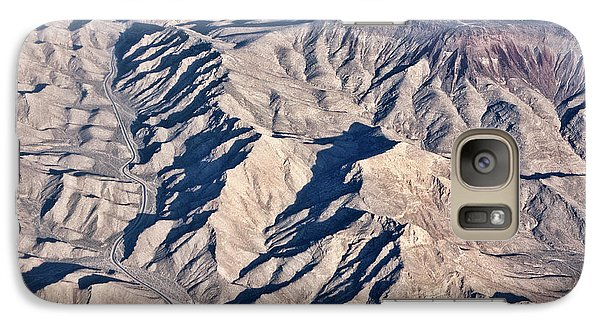 Galaxy Case featuring the photograph Desert Mountain Road by Linda Phelps