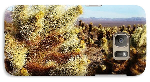 Galaxy Case featuring the photograph Desert Plants - Porcupine Cholla by Glenn McCarthy