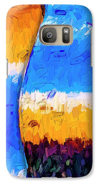 Galaxy Case featuring the photograph Desert Sky 3 by Paul Wear