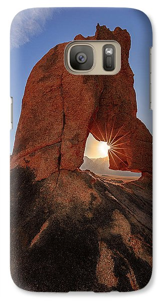 Galaxy Case featuring the photograph Desert Star by Mike Lang