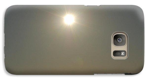 Galaxy Case featuring the digital art Desert Sun by Walter Chamberlain
