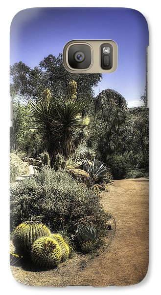 Desert Walkway Galaxy S7 Case by Lynn Geoffroy