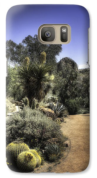Galaxy Case featuring the photograph Desert Walkway by Lynn Geoffroy