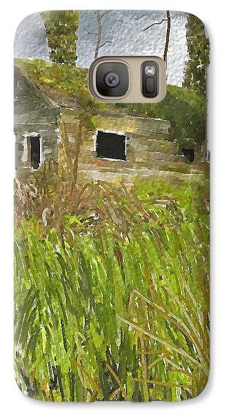 Galaxy Case featuring the digital art Deserted by Dale Stillman