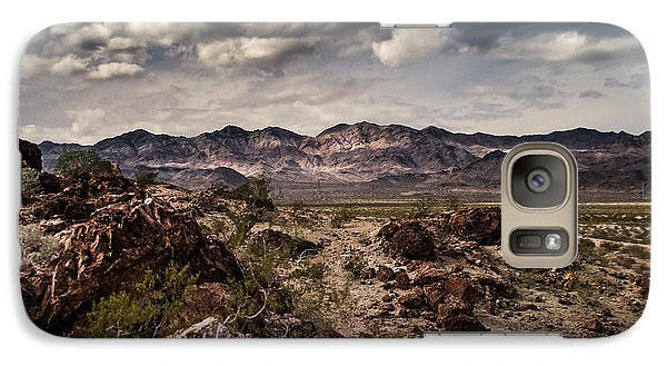 Galaxy Case featuring the photograph Deserted Red Rock Canyon by Jason Moynihan