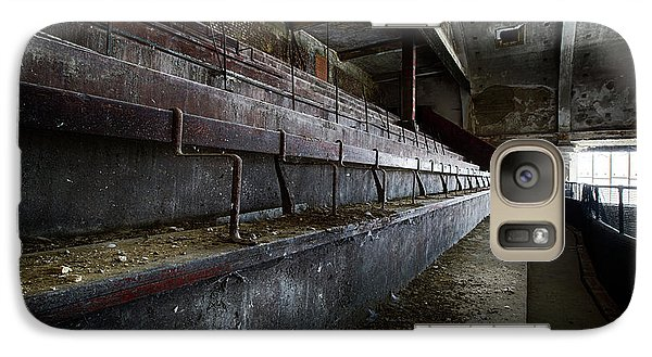 Galaxy Case featuring the photograph Deserted Theatre Steps - Urban Exploration by Dirk Ercken