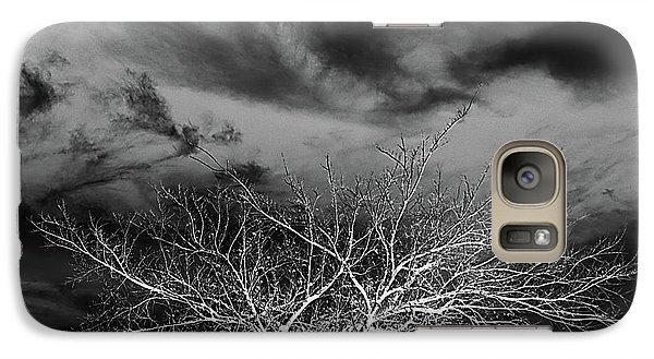 Galaxy Case featuring the photograph Desolate Feel by Yvonne Emerson AKA RavenSoul