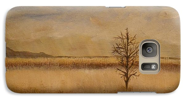 Galaxy Case featuring the painting Desolation by Lori Jacobus-Crawford