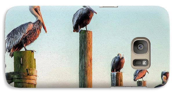 Destin Pelicans-the Peanut Gallery Galaxy S7 Case