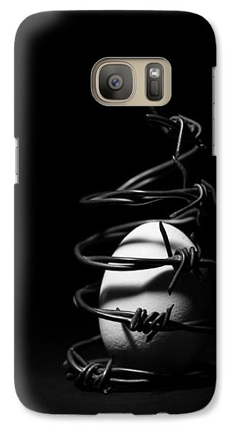 Galaxy Case featuring the photograph Destined To Be A Prisoner For Life - The Dark Side Of It All by Yvette Van Teeffelen