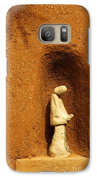 Galaxy Case featuring the photograph Detail Mission Of The Sun by Vivian Christopher