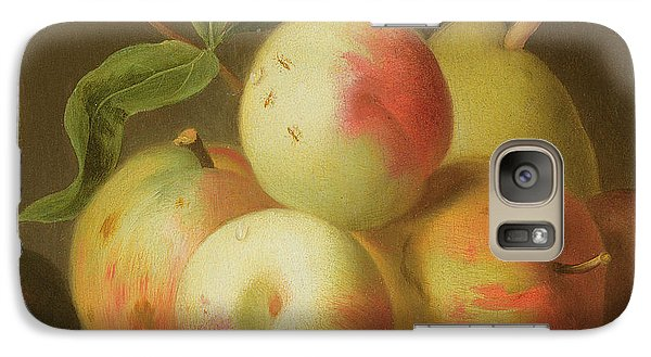 Detail Of Apples On A Shelf Galaxy S7 Case
