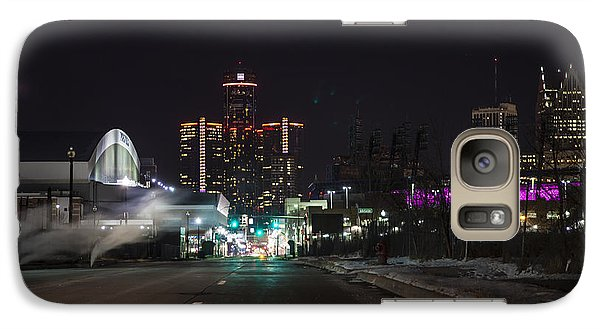 Galaxy Case featuring the photograph Detroit Michigan by Nicholas Grunas