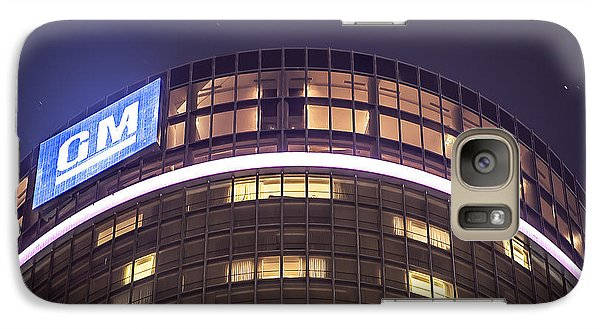 Galaxy Case featuring the photograph Detroit Renaissance Center by Nicholas  Grunas