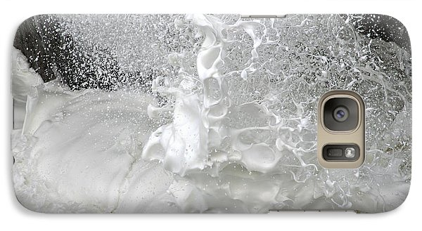 Galaxy Case featuring the photograph Devils Churn Up Close by Holly Ethan