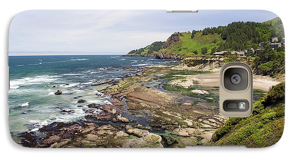 Galaxy Case featuring the photograph Devil's Punchbowl by Andrew Serff