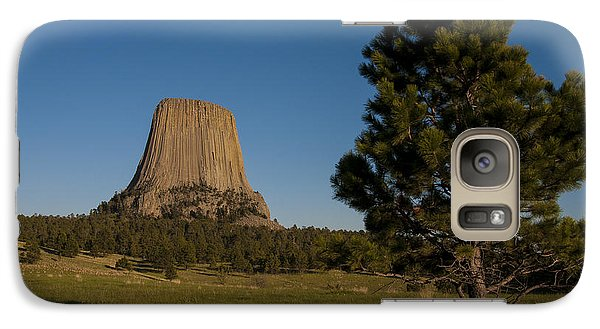 Galaxy Case featuring the photograph Devil's Tower by Gary Lengyel