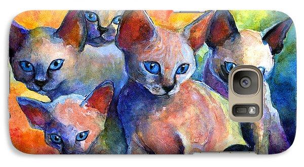 Devon Rex Kitten Cats Galaxy S7 Case