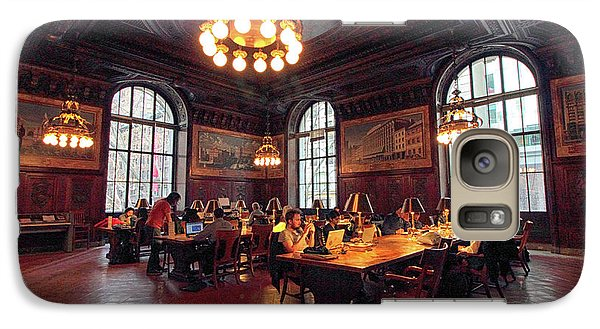 Galaxy Case featuring the photograph Dewitt Wallace Periodical Room by Jessica Jenney