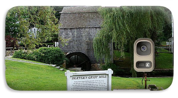 Galaxy Case featuring the painting Dexter's Grist Mill by Rod Jellison