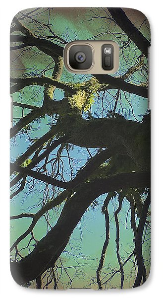 Galaxy Case featuring the photograph Dialogue  by Connie Handscomb