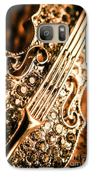 Violin Galaxy S7 Case - Diamond Ensemble by Jorgo Photography - Wall Art Gallery