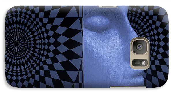 Galaxy Case featuring the photograph Diamond Shadow 1 by Jeff  Gettis